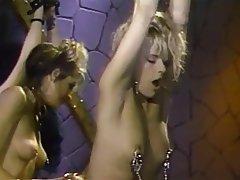 BDSM, Lesbian, Blonde, Brunette, Lingerie
