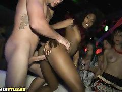 Babe, Blowjob, Cumshot, Ebony, Interracial