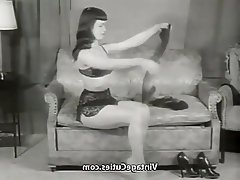 Babe, Pornstar, Secretary, Stockings, Vintage