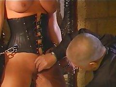 BDSM, Big Boobs, Blonde, Latex