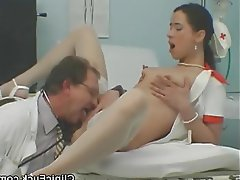 Blowjob, Hardcore, Medical, Threesome