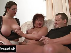 Big Boobs, Blowjob, German, Hardcore, Threesome