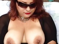 BBW, Big Boobs, Masturbation