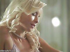 Blonde, Blowjob, CFNM, Cum in mouth