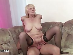 Cumshot, Hardcore, MILF, Old and Young
