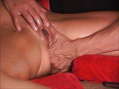 Close Up, Squirt, MILF, Massage