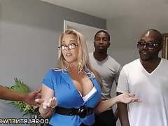 Mature, Creampie, Gangbang, Interracial