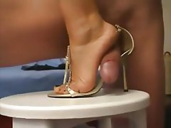 German, Amateur, Foot Fetish, Footjob