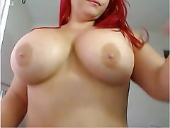 Big Butts, Big Boobs, Redhead, Webcam