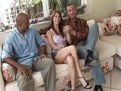 Cuckold, Interracial, Wife, Husband, Big Black Cock