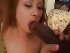 Dildo, Hardcore, Interracial, Lingerie, Redhead