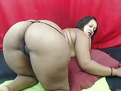 African, Big Butts, Webcam