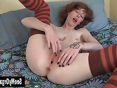 Amateur, Fisting, Masturbation, Redhead