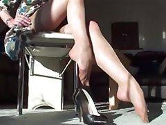 Foot Fetish, Pantyhose, Stockings