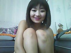Asian, Dildo, Webcam