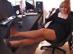 Femdom, Foot Fetish, French, Mistress