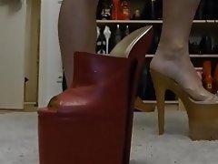 Foot Fetish, Footjob, High Heels