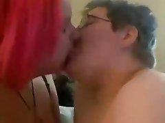 Amateur, BBW, Lesbian, Kissing