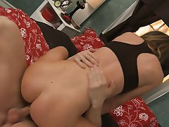 MILF, Blowjob, Big Boobs, Brunette
