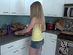 Girlfriend, Cute, Kitchen, Webcam