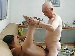 Mature, Granny, Chinese, Fucking