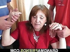 Mature, Granny, Office, Big Tits
