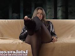 Amateur, Brunette, Femdom, Foot Fetish