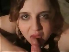 Amateur, BBW, Blowjob, Brunette, Facial
