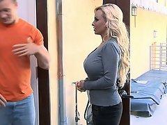 Big Tits, Blonde, Housewife, MILF