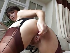 Babe, British, Foot Fetish, Masturbation