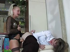 BDSM, Blowjob, Femdom, Russian, Strapon