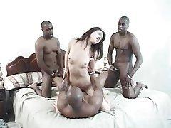 Asian, Gangbang, Hardcore, Interracial, Pornstar
