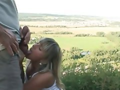 Cumshot, Amateur, Blonde, German
