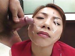 Bukkake, Cumshot, Facial, Japanese, MILF