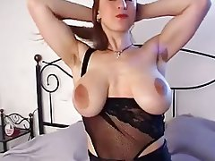 Babe, Big Boobs, Hairy, Masturbation