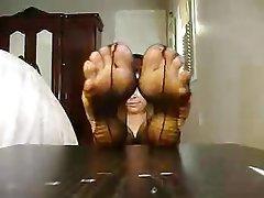 Stockings, Foot Fetish, Pantyhose