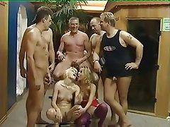 Blowjob, Cumshot, Gangbang, German, MILF