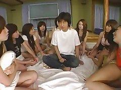 Face Sitting, Femdom, Gangbang, Group Sex, Japanese