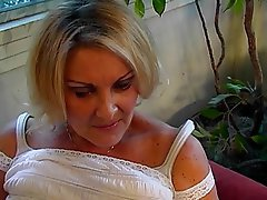 Blowjob, Mature, Big Boobs, Blonde