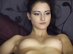 Amateur, Brunette, Masturbation, Webcam