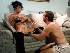 Blowjob, Brunette, Latex, MILF