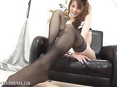 Asian, Feet, Fetish, Stockings