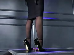 BDSM, Femdom, Foot Fetish, Pantyhose, Stockings