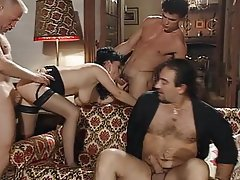 Cheating Frat creampies party